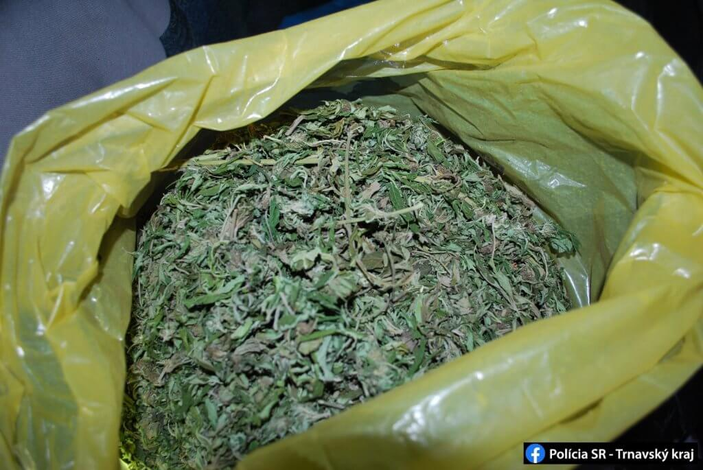 marihuana vo vreci