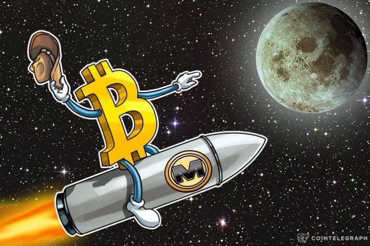bitcoin na mesiac