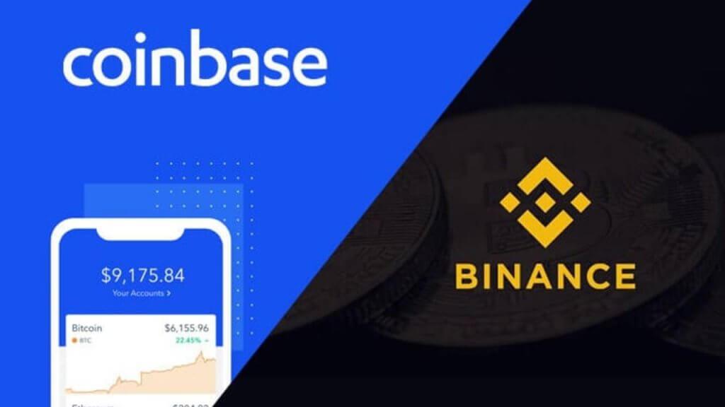 coinbase binance burza