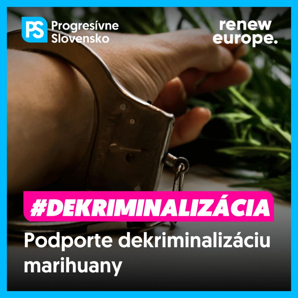 dekriminalizacia marihuany peticia