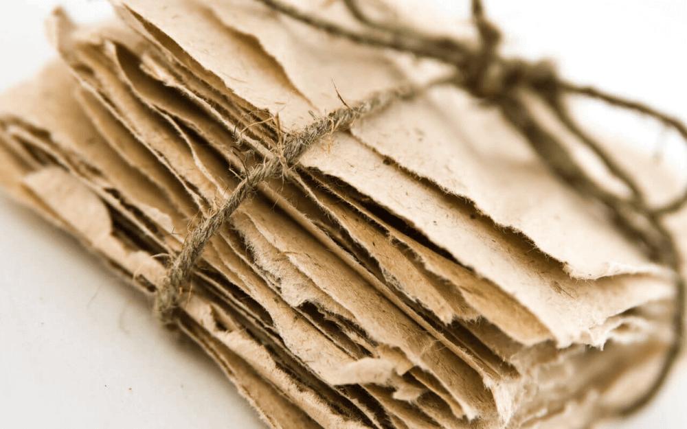 konopný papier